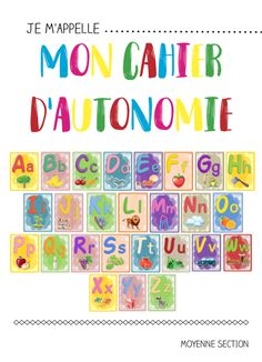 Autonomy notebook n ° Home Activities Autism Education, Education Quotes, Home Activities, Educational Activities, Masking Tape Art, Gaming Center, French Course, French Classroom, Collage Making