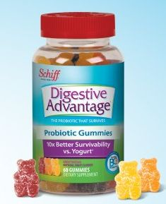 FREE Sample: Schiff Digestive Advantage Probiotic Gummies