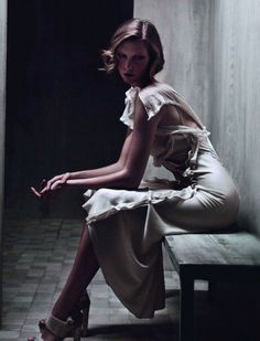 Karlie Kloss by Patrick Demarchelier for Donna Karan Spring/Summer 2011 (Ad Campaign)