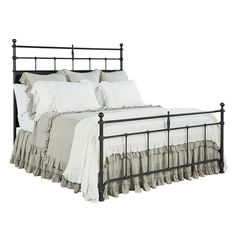 Trellis Metal Bed - Beds - Magnolia Home | The Design Network