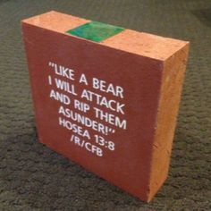 Some college football fans on Reddit got together and bought a brick at #Baylor's McLane Stadium. This is their message. #SicEm