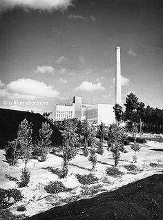 Fábrica de briquetes da Mina do Espadanal, 1954/55. © Colecção Fernando Sequeira Aguiar, Arquivo EICEL1920.