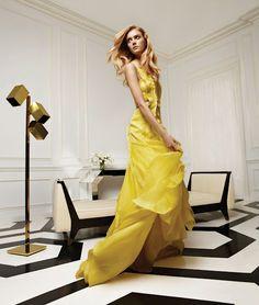 Caroline Herrera S/S 2012: Sigrid Argen by Patrick Demarchelier