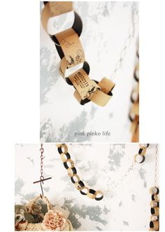 Cross Ring Ornament with toilet paper rolls via pink pinko life