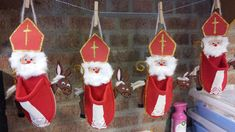 Catholic Crafts, Christmas Crafts, Christmas Ornaments, Saint Nicholas, Patron Saints, Christmas Stockings, Crafts For Kids, Projects To Try, Holiday Decor