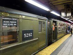 HBO Boardwalk Empire: Vintage NYC Subway Train