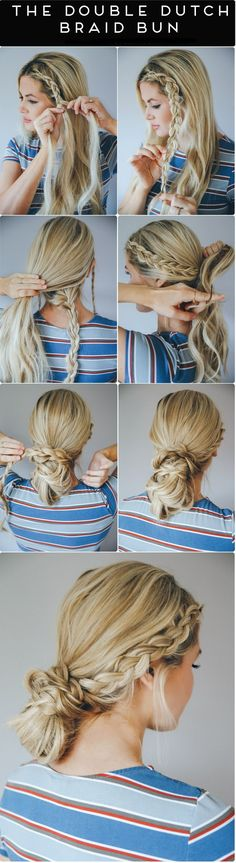 DIY: Quick & Easy 3 Hairstyles You Can Do In Less Than 10 Minutes!
