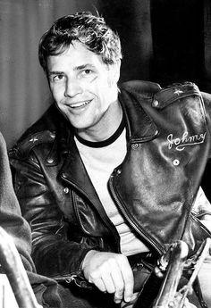 "Marlon Brando, ""The Wild One"""