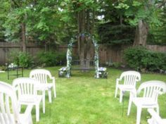 Backyard Weddings On A Budget | Ideas for a Backyard Wedding on a Budget - Backyard Wedding Ideas ..www.celebrationsbykat.com