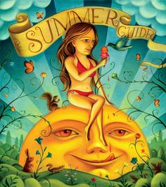 Summer Guide by Chris Buzelli