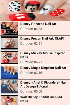 This is a tutorial for Disney Nails! Learn how to create this easy and cute Nail Design. Learn how to make some fabulous nail art. Disney Nail Art is getting major attention as these were noticed on many celebrities from around the world. Disney nail art is cute, adorable and loved even. Disney Nail Art is inspired by the classic and new disney characters. It is especially popular among young girls but is. http://Mobogenie.com