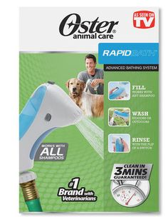 Win an Oster RapidBath Pet Bathing System!