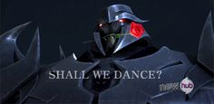 Shall we dance? -is this the transformers fandom on hiatus? I do believe it is...the disease has spread...