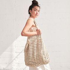 Lauren Manoogian Crochet Net Bag at General Store