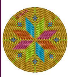 Mochilla look a like pattern