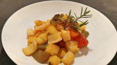 Schnelles Ofengemüse Zucchini, Kraut, Fruit Salad, Pork, Sweet, Ethnic Recipes, Vegetarian Main Dishes, Carrots, Easy Meals