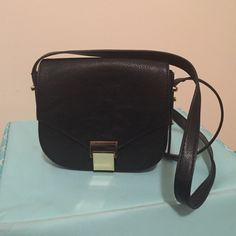 Small black crossbody Hardly ever used. Small black Forever 21 crossbody bag Forever 21 Bags Crossbody Bags