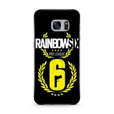 Rainbow 6 Pro League Samsung Galaxy Case #iphonecase #iphone6case #phonecases