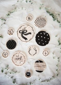 DIY Clay Ornaments on A Beautiful Mess by Kelli Murray