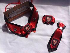 gravatas pets times de futebol - laços gargantilha