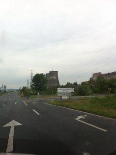 On the road, Veszprém County, Inota, Hungary