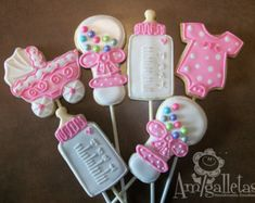 Ducky Baby Shower Cookies by Amigalletas on Etsy