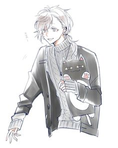 Twitter Cute Anime Boy, Anime Guys, Mermaid Stories, Manga Boy, Character Drawing, Cute Guys, Cartoon Art, Kawaii Anime, Character Inspiration