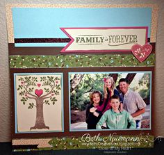 Beth's Creative Block!: September SOTM: Family is Forever