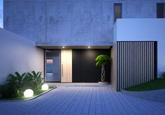 Garage Doors, Behance, Architecture, Gallery, Outdoor Decor, Check, Projects, Design, Home Decor