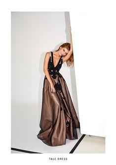 Spring/Summer  '19 - Alina Cernatescu #alinacernatescu #RomanianDesigner #SpringSummer19 #SS19collection #new #handcrafted #embroidery #LaDolceVita Spring Summer, Beige, Couture, Formal Dresses, Black, Fashion, Dresses For Formal, Moda, Formal Gowns
