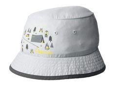 Pebble Rainbow Reversible Bucket Hat