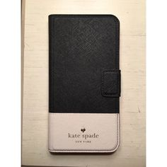 Kate Spade iPhone 6 Plus Wallet Case Kate Spade iPhone 6 Plus Wallet Case. Brand New. 2 card holder slots. Mirror which says 'Smile' on the bottom. kate spade Accessories Phone Cases