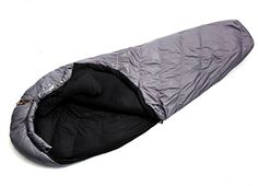 FUNS 4 Season Winter 20F Portable Lightweight Goose Down Filled Traveling Camping Backpacking Mummy Sleeping Bag * To view further for this item, visit the image link.