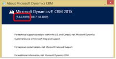 New naming conventions for Microsoft Dynamics CRM updates: