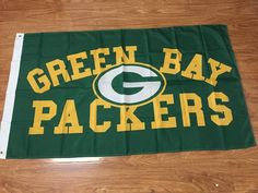 Green Bay Packers NFL Logo Flag 3x5FT – Best Funny Store