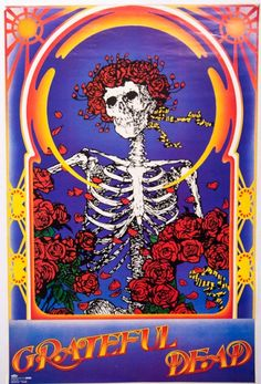 Grateful Dead Archive Online - Up and open to the public! aka Skull F*uck Grateful Dead Skull, Grateful Dead Image, Grateful Dead Poster, Rock Posters, Band Posters, Concert Posters, Festival Posters, Music Posters, Dead Images