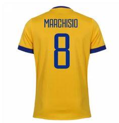 Juventus away Kit 17 18 MARCHISIO Cheap Football Shirts d341c3827