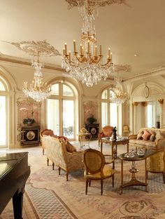 European Neo-classical Style II - European Neo-classical Style II from European Neo-classical Style II - Luxury Home Decor, Luxury Interior, Home Interior Design, Luxury Homes, Interior Decorating, Palace Interior, Mansion Interior, Apartment Interior, Architecture Restaurant