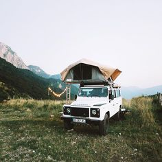 """""""We made it to Slovenia. Spending our first night in the Alps at 5000 feet."""" @alexstrohl on Instagram"""