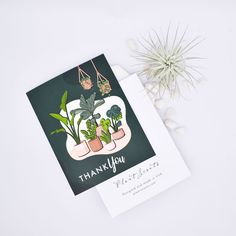 Personalized Succulent Gift Box - Thank you