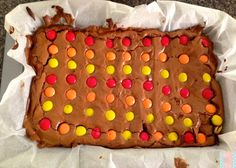 Traffic Light Brownies in thermomix