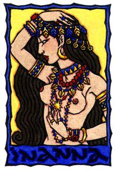 Inanna, Gran Diosa de Sumer