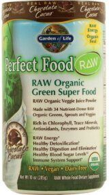 Garden of Life Perfect Food RAW Organic Green Super Food - Chocolate Cacao