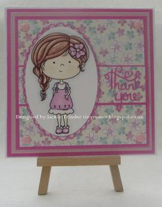Tinyrose's Craft Room: Crafty Catz Challenge Blog  - Optional theme Thank You the image is from Crafty Sentiments Designs