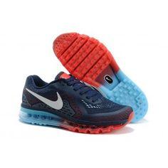 Nike Air Max 2014 Braun Grün Blau Männer Schuhe