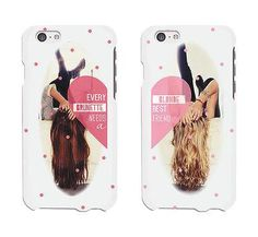 Every Brunette And Blond Cute BFF Mathing Phone Cases For Best Friends