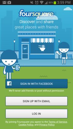 Share and discover new locations with Foursquare (pictures) Social Media Apps, Social Networks, Social Media Marketing, Open Signs, Best Android, Android Apps, Interesting Information