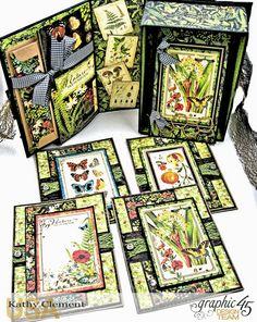 6 Cards SENTIMENTS Scrapbooking ALTERED ART crafts ATC JBS Mini Decks