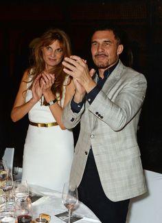 Jemima Goldsmith and André Balazs
