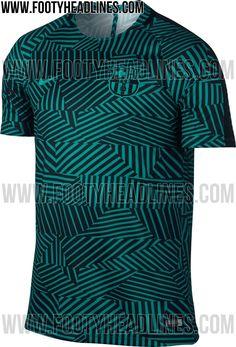 La próxima espectacular camiseta de entrenamiento del Barcelona | Pasión Fútbol.com